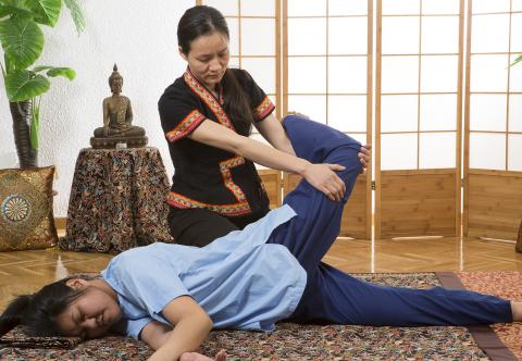 Thai massage (Nuad Boran)